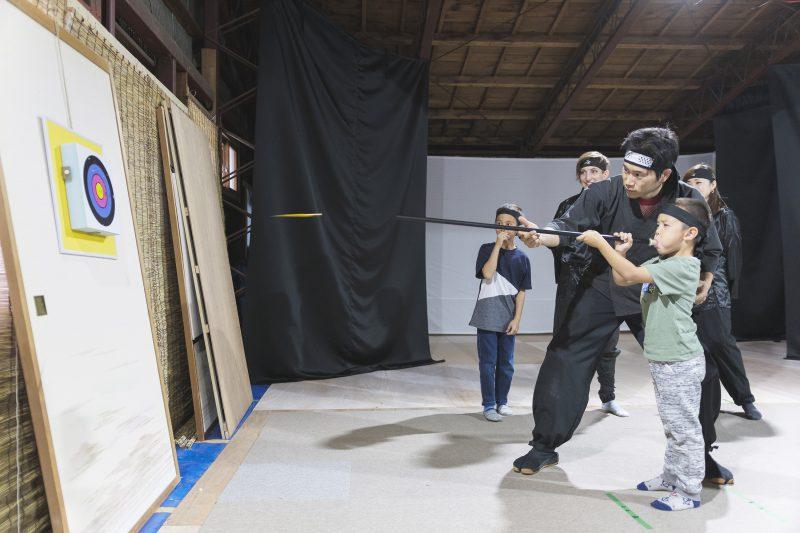 Experience3 Fukiya(Blowing Arrow)