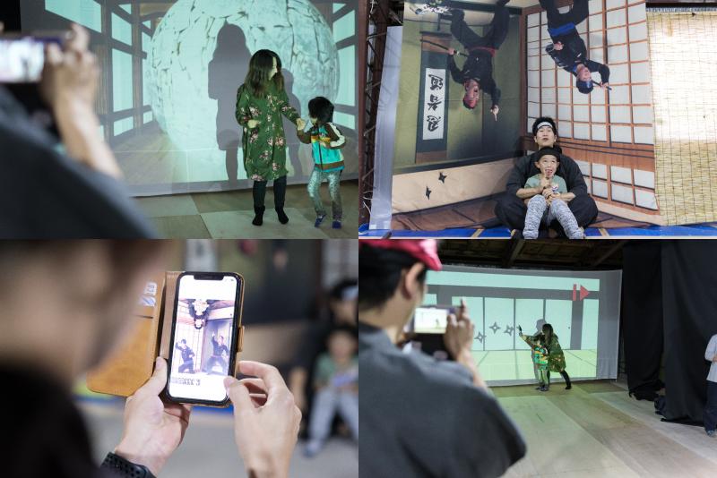 Experience5 Ninja shooting