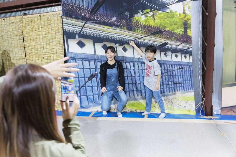 札幌忍者道場の修行5  忍者撮影